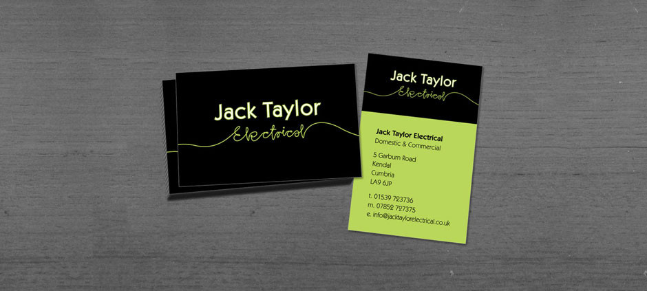 Branding for Jack Taylor Electrical