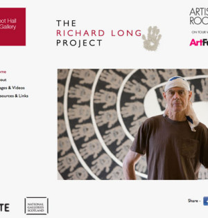 Microsite for Abbot Hall Art Gallery