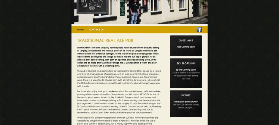 CMS Website – St Dunstan Inn