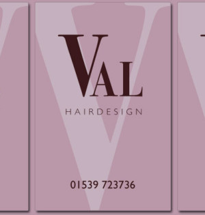 Val Hairdesign Branding